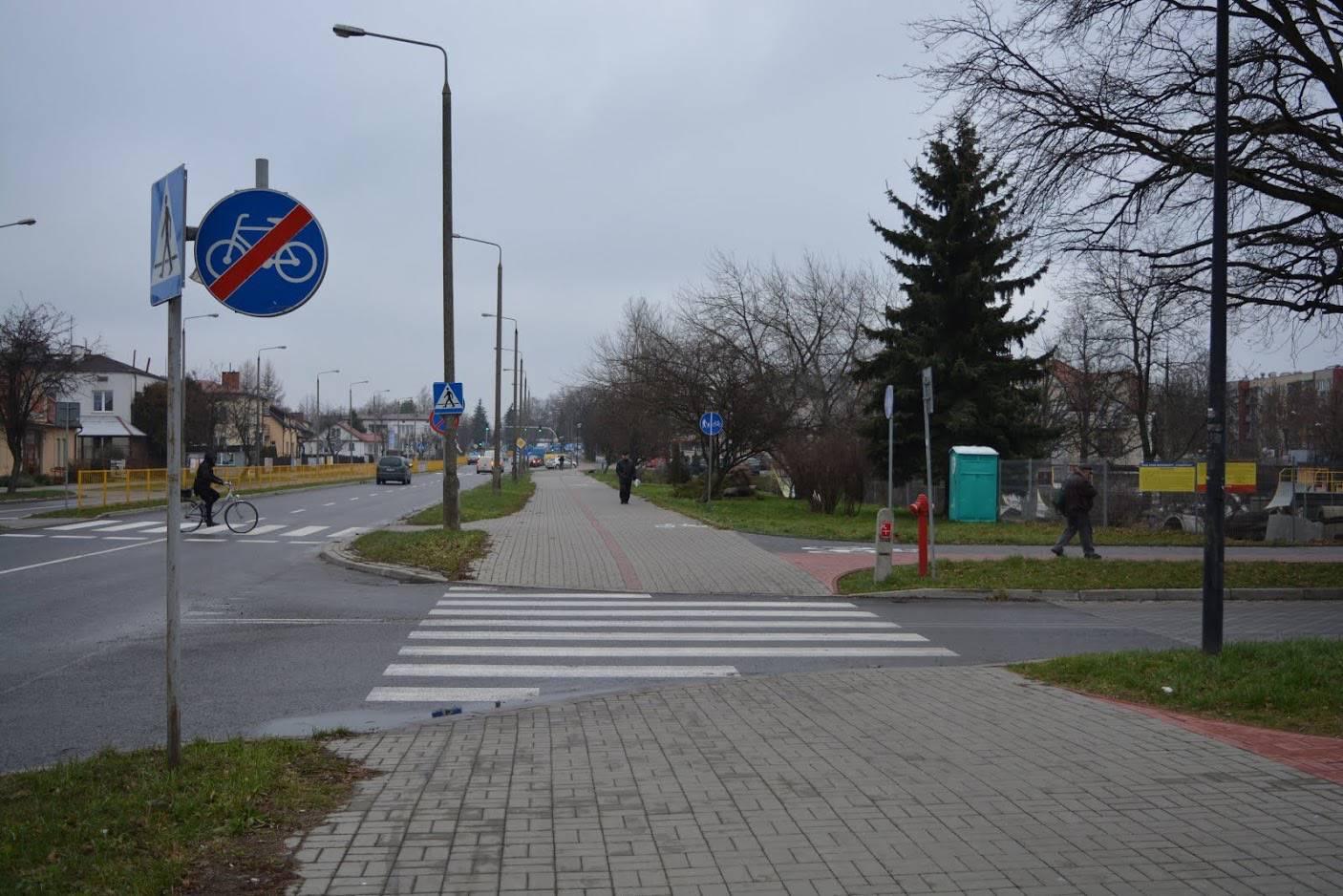 przejazd na ul. Kruczkowskiego